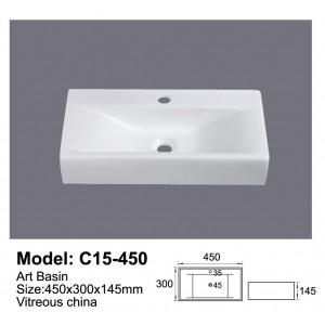 Global Above Counter Basin C15-450 - Global Builders Warehouse