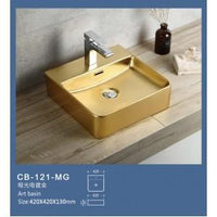 Global Above Counter Basin | CB-121-MG - Global Builders Warehouse