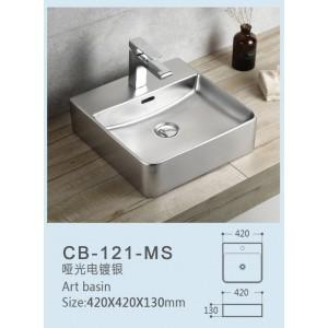 Global Above Counter Basin | CB-121-MS - Global Builders Warehouse