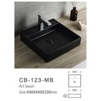 Global Above Counter Basin | CB-123-Mb - Global Builders Warehouse