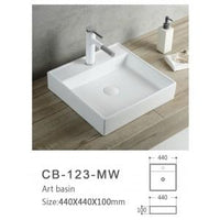 Global Above Counter Basin | CB-123-MW - Global Builders Warehouse