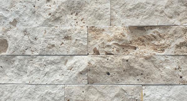 Classic Travertine Stack Stone | 150x600mm - Global Builders Warehouse