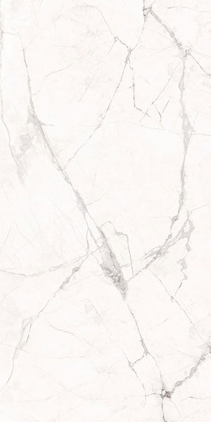 Sintered Stone | Large Format Slab Panel | 1600x3200x12mm | Gamper Snow - Global Builders Warehouse