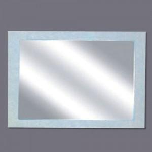 Global Mirror with White Poly Frame | KS-1590 - Global Builders Warehouse