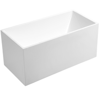 LB1050-1600 Freestanding Bathtub | 1600x750x600mm - Global Builders Warehouse