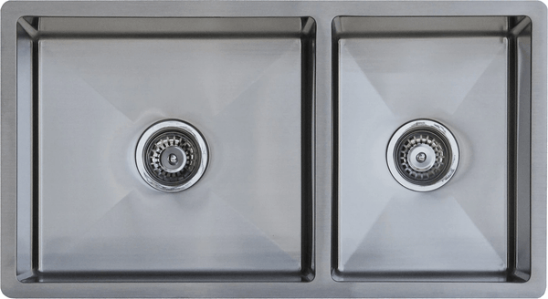 Global Single +3/4 Bowl Sink | 825x450x205 | SN101015 - Global Builders Warehouse