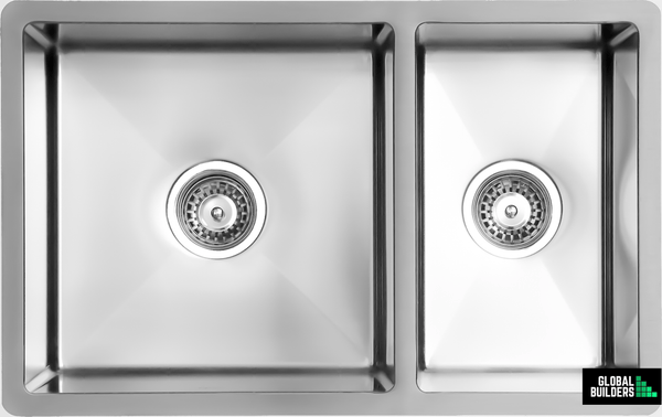 Global Single & 1/4 Bowl Sink | 725x450x205 | SNA01011 - Global Builders Warehouse