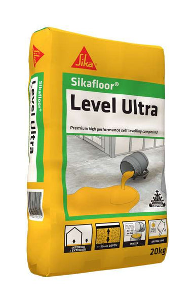 SikaFloor Level Ultra Self-Levelling Compound | 20kg - Global Builders Warehouse