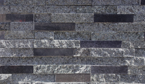 Sparkly Black Polished Stack Stone | 150x600mm - Global Builders Warehouse
