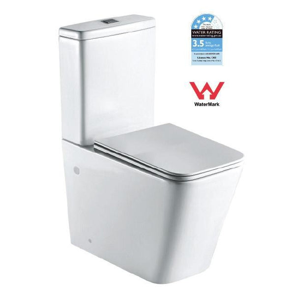 T2093A — Back-to-wall Toilet Suite - Global Builders Warehouse