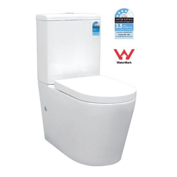 T6002 — Back to Wall Toilet Suite - Global Builders Warehouse