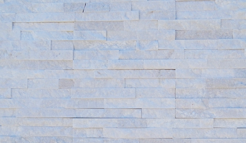 Crystal White Stack  Stone | 150x600mm - Global Builders Warehouse