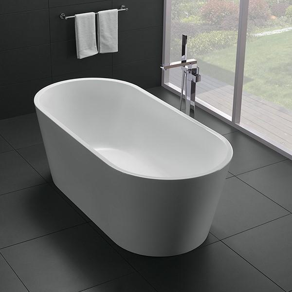 LB1018W-1400 Freestanding Bathtub | 1400x750x600mm - Global Builders Warehouse