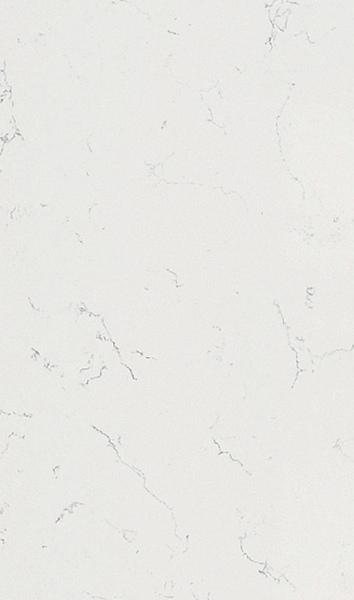 Premium Cararra White Quartz Polished Stone Slab | 3000x1500x20mm - Global Builders Warehouse