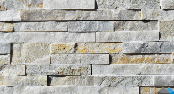 Sandy White Stack  Stone | 150x600mm - Global Builders Warehouse