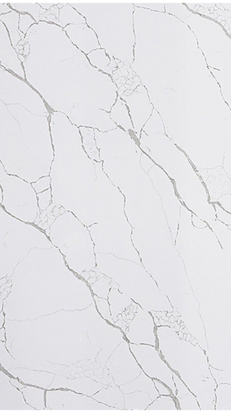 Calcutta Storm Quartz Polished Stone Slab | 3100x1600x20mm - Global Builders Warehouse