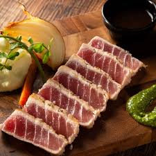 Tuna (Toro) Steak and  Sauce