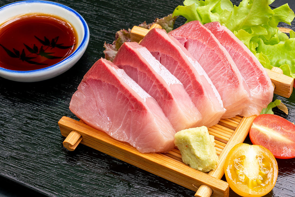 What makes Japanese Hamachi (Yellowtail) so fatty?