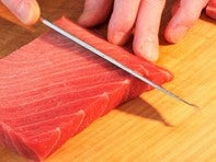how to cut for Sushi?
