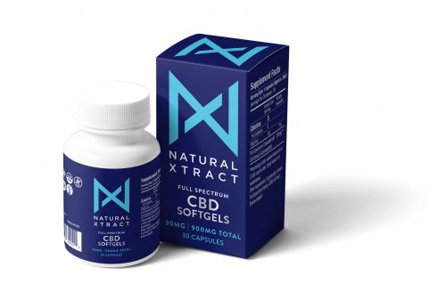 Natural Xtract CBD Oil Gel Capsules