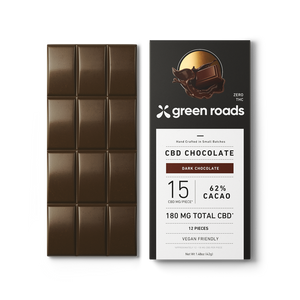 Greenroads CBD Dark Chocolate Bar