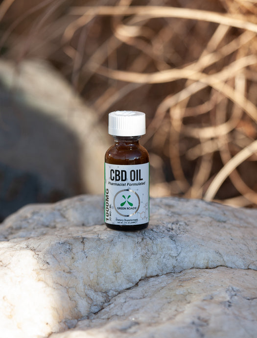 Green Roads - Broad Spectrum Tincture 1000 MG