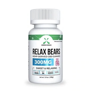 Green Roads - Relax bears - see dancing bears without the tracers