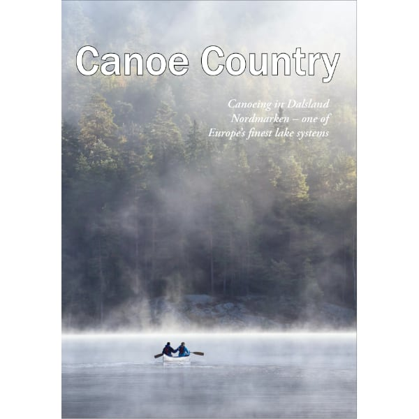 Canoe Country canoeeing map Dalsland