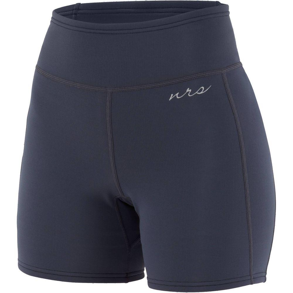 NRS Women's HydroSkin 0.5 mm neoprene shorts dark-shadow