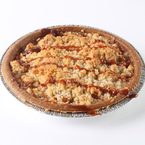 Apple Caramel Crumble Pie
