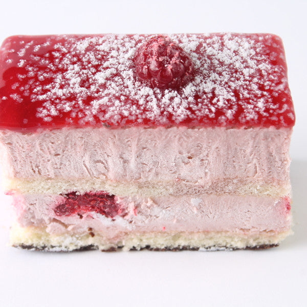 Raspberry Delight Slice