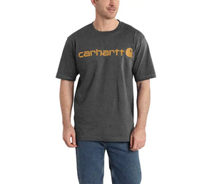 Carbon Heather | Carhartt Short Sleeve T-Shirt | Fast Shipping | Canada