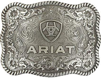 Ariat Antique Silver Buckle