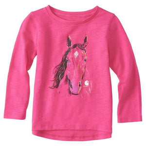 Carhartt Crayon Horse Long Sleeve | ruggednorth.ca