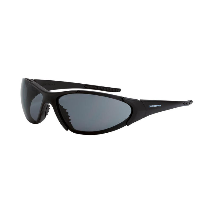 Crossfire Smoked Safety Glasses