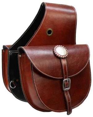 Showman Leather Saddlebag | Canada | ruggednorth.ca
