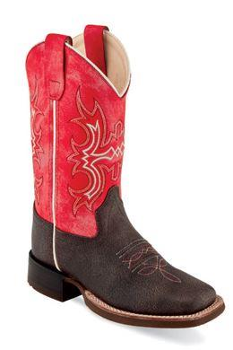 Old West Youth Cowboy Boots