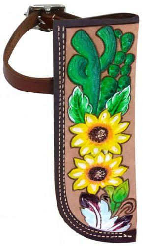 Sunflower and Cactus Flag Carrier | ruggednorth.ca