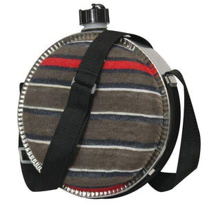 Showman Canteen With Lid & Strap | ruggednorth.ca