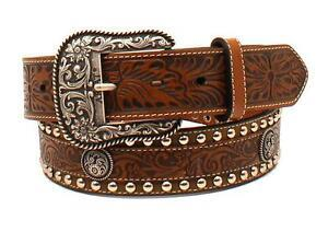Ariat Mens Western Concho Belt | Canada | ruggednorth.ca