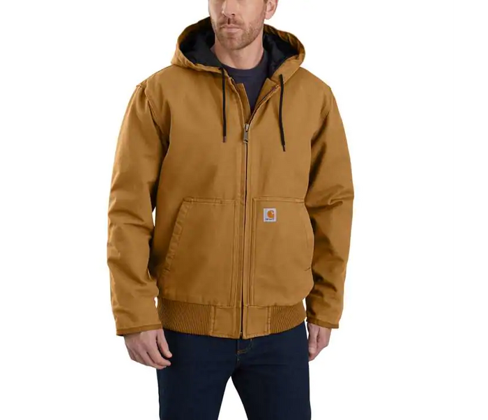 Carhartt Duck Quilt Lined Jacket