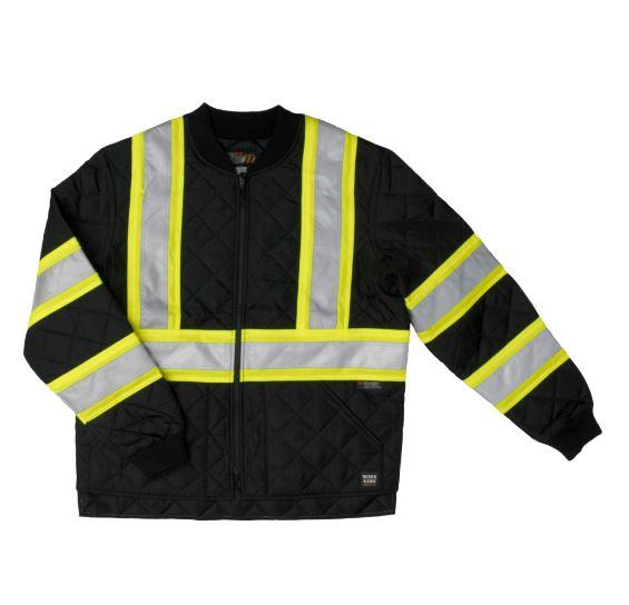 Work King Quilted Jacket w/Tape