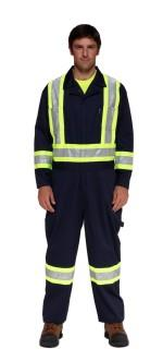 Stalworth Coveralls with Safety Stripes
