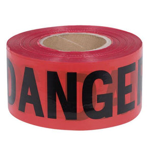Pioneer Danger Red Ribbon Tape | Canada | ruggednorth.ca