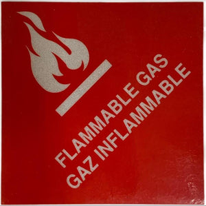 North Safety Flammable Gas Sticker | Canada | ruggednorth.ca