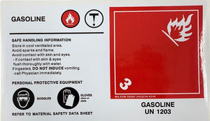 Wilson Signs Gasoline Sticker | Canada | ruggednorth.ca