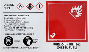 Wilson Signs Diesel Fuel Sticker | Canada | ruggednorth.ca