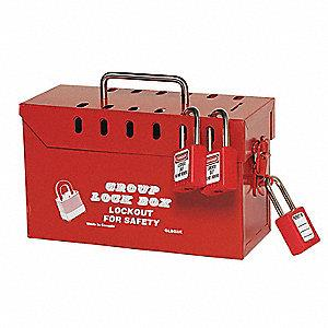 North Safety Tamper Free Lock Box