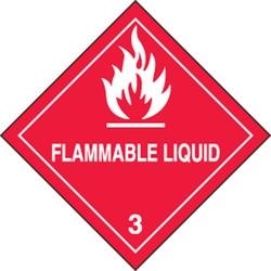 Flammable Liquid Sticker