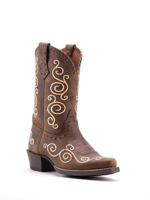 Ariat Embroidered Cowgirl Boot | Canada | ruggednorth.ca